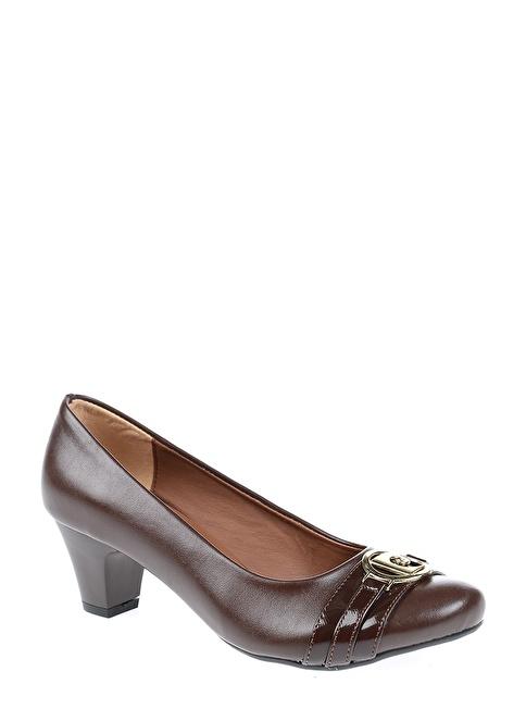 Pierre Cardin Topuklu Ayakkabı Kahve